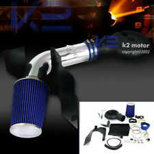 97-99 Dakota 98-03 Durango 5.2L 5.9L V8 Cold Air Intake+Blue Filter+Heat Shield