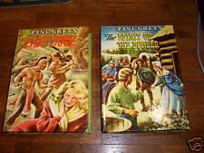 2 ZANE GREY WHITMAN BOOKS: VERYFINE, LOVELY SHAPE!