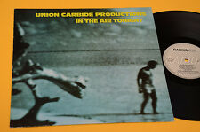 UNION CARBIDE PRODUCTIONS LP IN THE AIR TONIGHT ORIG SWEDEN 1987 EX++ GARAGE