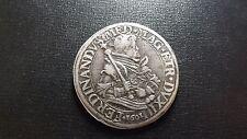 1601 Italian States - Tuscany. Silver Tallero Taler Ferdinando I deMedici Italy