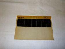 KAWASAKI KE100 KE 100 B1 (1982 MOD)  GEN PART CATALOGUE MICROFICHE
