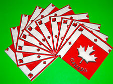 CANADA OLYMPIC HOCKEY SUPPORT YOUR TEAM NAPKINS 10 PACK