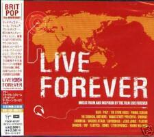 LIVE FOREVER The Best of 90's UK Rock RED Japan CD NEW