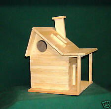 Country House Bird house Kits for Children and Adults Hand made in USA
