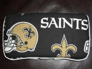 New Orleans Saints Wipes Travel Case