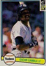 Oscar Gamble Yankees 1982 Donruss #360