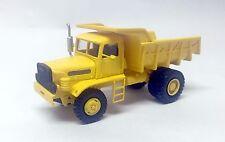 HO 1/87 WILLEME TE 317 Dumper - Ready Made Resin Model by Fankit Models
