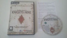 THE ELDER SCROLLS IV (4) OBLIVION - KNIGHTS OF THE NINE - PACK EXTENSION PC