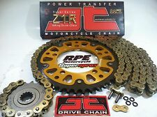 HONDA CBR1000rr 2008-16 JT Gold Z1R 520 SuperSprox Chain and Sprockets Kit