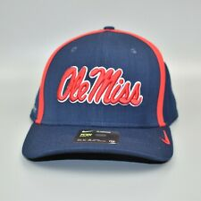 Mississippi Ole Miss Rebels Nike Aerobill Men's Fitted Cap Hat - Size: S/M