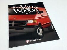 2002 Dodge Ram Van Wagon Brochure