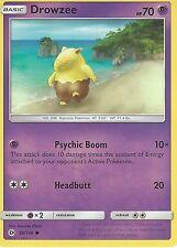 POKEMON SUN & MOON CARD: DROWZEE - 59/149