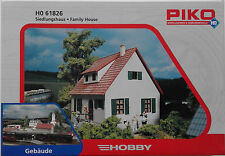PIKO 61826 Family House 00/H0 Plastic Model Rail Kit