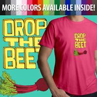 Drop the Beet Pun Beat Funny Music Meme Graphics Unisex Mens Tee Crew T-Shirt