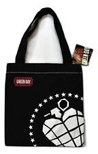 Bioworld Green Day Punk Rock Grenade Shopping Tote Bag NWT