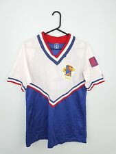 VTG RETRO MENS USA CHAMPION ATHLETIC SPORTS BASEBALL JERSEY TOP UK VGC S/M