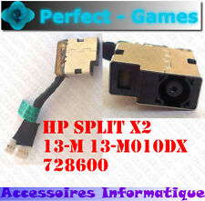 Connecteur alimentation DC power Jack cable HP SPLIT X2 13-M 13-M010DX 728600