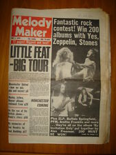 MELODY MAKER 1976 MAY 1 LITTLE FEAT LED ZEPPELIN ELP
