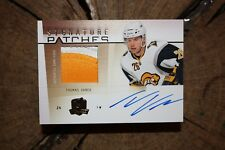 2009 10 UPPER DECK THE CUP TOMAS VANEK SIGNATURE PATCH CARD