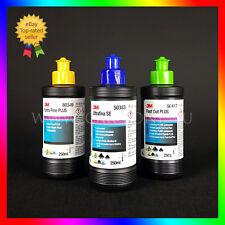 3M Politurset Ultrafina Fast Cut Extra Fine Schleifpaste (3x250 gr) PoliturenSet