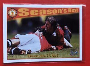 DAVID BECKHAM - ROOKIE CARD - MAN UTD - FUTERA 1997 - SEASONS BEST 44  RARE MINT