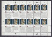 UNO Wien 1992 postfrisch MiNr. 139-140  Bogensatz  Menschenrechte