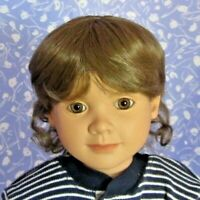 Playhouse  BRENDA  Light Brown Full Cap Doll Wig Size 14-15 could be Unisex