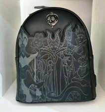 Loungefly DISNEY VILLAINS Full Cast Embossed Mini Backpack BNWT