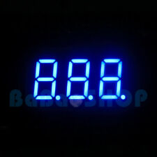 """New 0.36"""" 0.36 inch 7 Segment Display Blue LED 3 Digit Common Anode"""