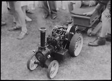 Glass Magic Lantern Slide TRACTION ENGINE SCALE MODEL DATED 1960 PHOTO