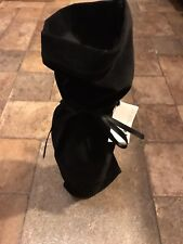Bagged By Design Reusable Hand Sewn Black FELT Wine Bags Duluth MN Free S/H