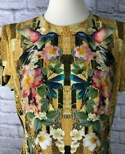 Alexander McQueen Hummingbird Cady Dress 2012 Collection Size IT 48 NWT