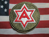 US ARMY Vietnam Era 6th Army Color Dress SSI Patch c/e
