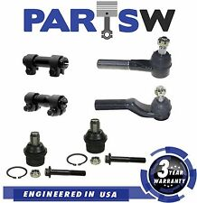 6 Pc Steering & Suspension Kit for Ford E-250 E350 E-450 Front Upper Ball Joints