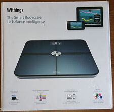 WITHINGS SMART BODY ANALYZER SCALE WBS01 - BLACK - EXCELLENT USED