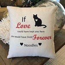 Customized Pet Memorial Pillow Dog or Cat