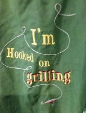 I'm Hooked on Grilling-Fishing Tackel Apron