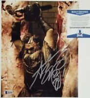 Andrew Bryniarski signed Texas Chainsaw Massacre 8x10 Photo #8 ~ Beckett BAS COA