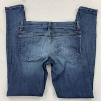 J Brand Womens Phoebe Skinny Leg Jeans Blue Medium Wash 5 Pocket Denim Pants 24