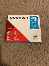"New Listing* Arrow 50524 T50 Staples - 1,250 Pk - 5/16"" *"