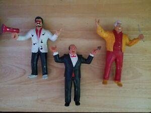 Mean Gene Okerlund - Jimmy Hart - Classie Freddie Blassie  LJN Action Figure WWF