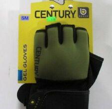 Century S/M Mens Brave Open Palm MMA Training Bag Gloves - Black/Green