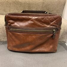 Mulberry Brown Leather Satchel, Briefcase,Laptop Messenger Bag Beautiful Vintage