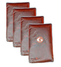 6 Pack Fitness GelPak 500 (Set of 4) - Red