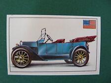 N°73 CHEVROLET BABY GRAND USA 1914 PANINI 1972 HISTOIRE DE L'AUTOMOBILE