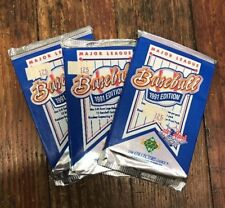 1991 Upper Deck Baseball Cards Collector's Choice, Unopened Pack(s)