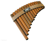 PAN FLUTE / PANPIPES 15 Hole Synthetic Wood Pipes Tunable Diatonic