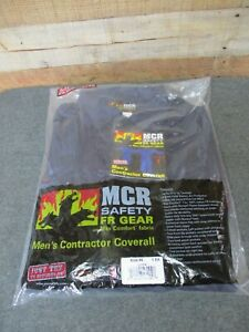 MCR Safety Contractor Coveralls Electric Arc Protection Size 46