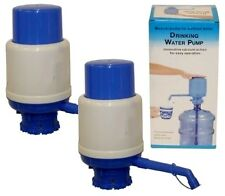 2 PK 5 Gallon Drinking Water Jug Bottle Pump Manual Dispenser Home Office School