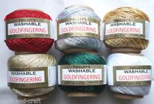 Goldfingering 3 Ply Crocheting & Knitting Yarns